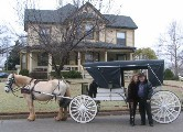 Love-Is Carriages will pick you at the Cottage